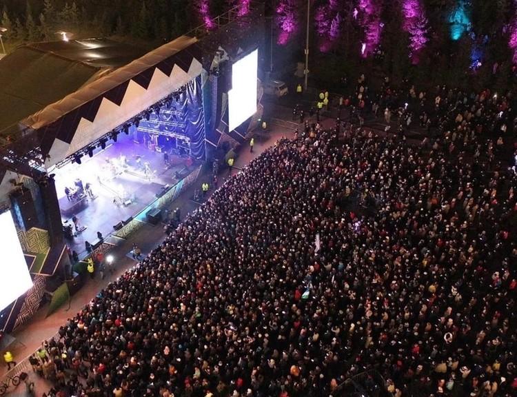 Концерт в парке «Ватан» посетили более 10 тысяч человек. Фото: Максим Никерин