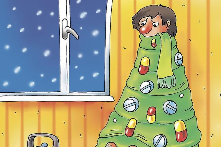 Врачи рассказали, как справиться с самыми распространенными новогодними проблемами