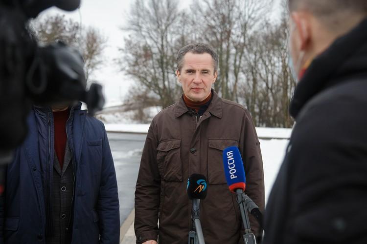На строительство очистных сооружений в Короче Вячеслав Гладков пообещал выделить 100 миллионов рублей. Фото пресс-службы губернатора и правительства.