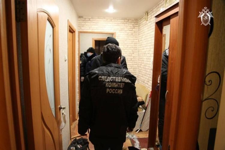 С места преступления. Фото: СУ СКР по Татарстану