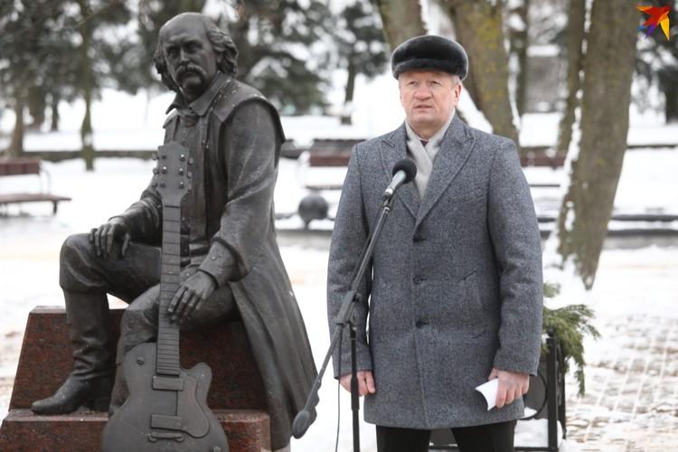 Министр культуры Беларуси Анатолий Маркевич.