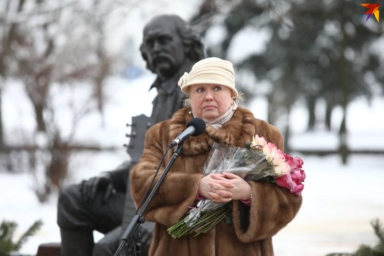 Марина Мулявина - старшая дочь Владимира Георгиевича.