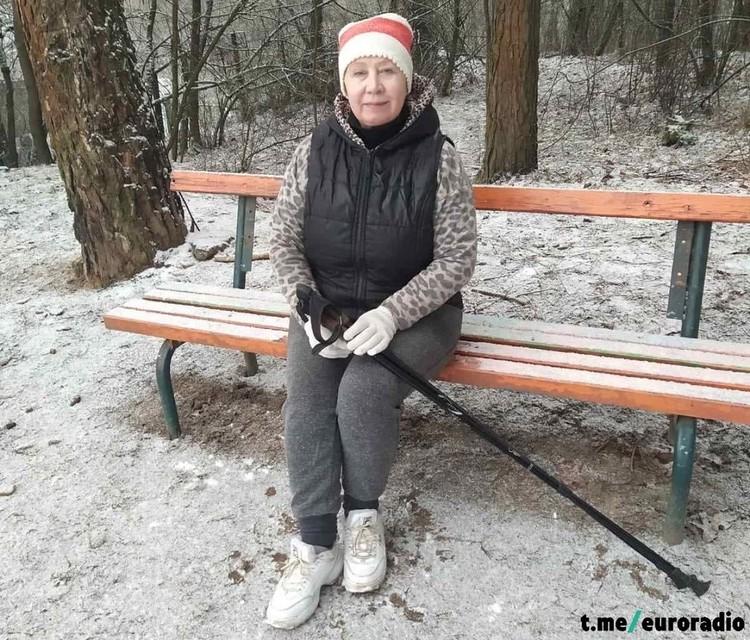 Среди задержанных витебчанок - мать оппозиционного политика Павла Северинца Татьяна Евгеньевна. Фото: Еврорадио.