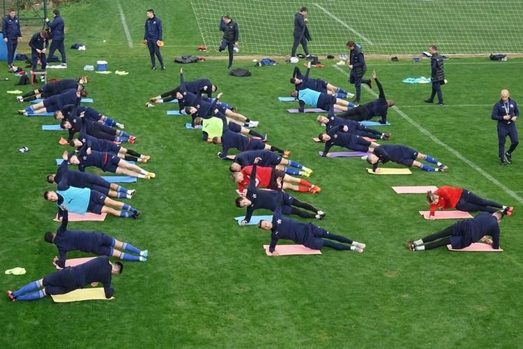 Хабаровская команда уже приступила к тренировкам