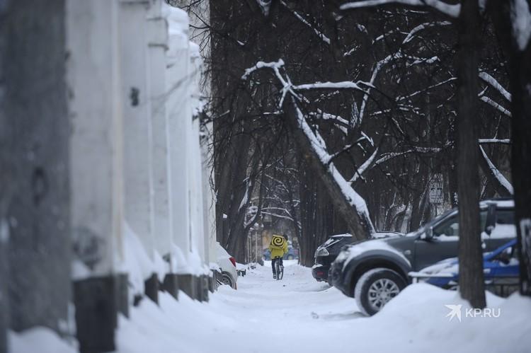 Не все улицы расчищены одинаково хорошо