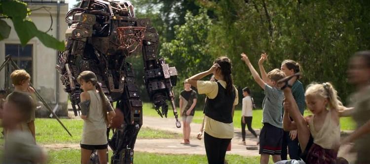 Только мертвый робот не идет играть в баскетбол