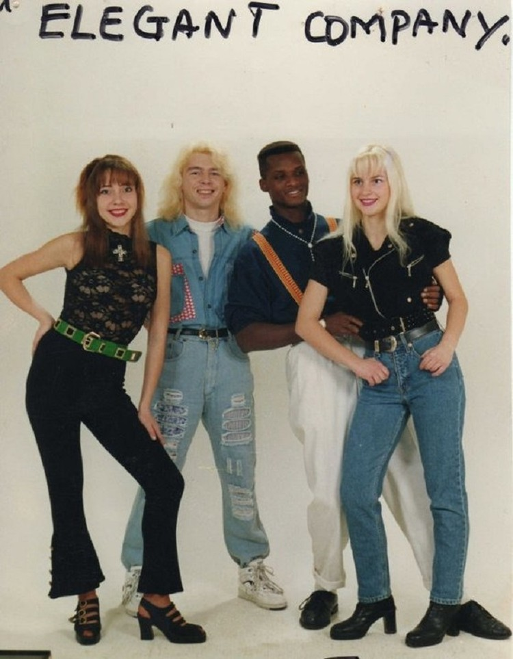 Elegant Company в 90-х были ультрамодным коллективом. Фото: личный архив