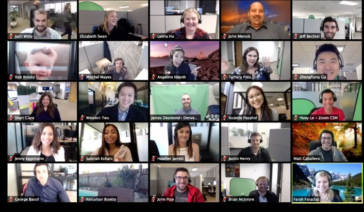 На экране зум-конференций многие увидели себя совсем не такими как в привычном зеркале. Фото skyteach.ru
