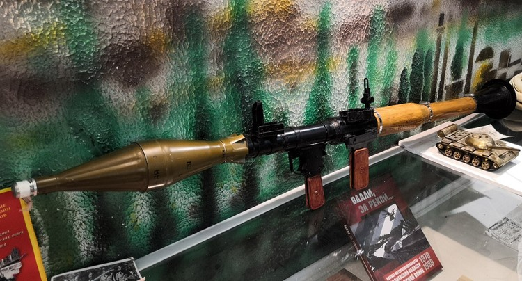 Гранатомет РПГ 70, по словам майора Корбана, лучший в мире.