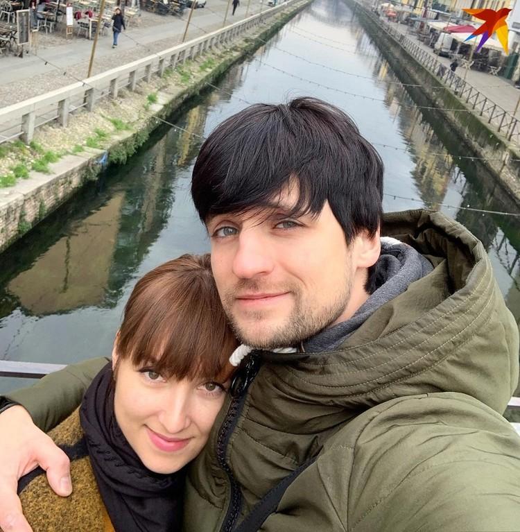 С женой Викой знакомы со школы. Фото: личный архив
