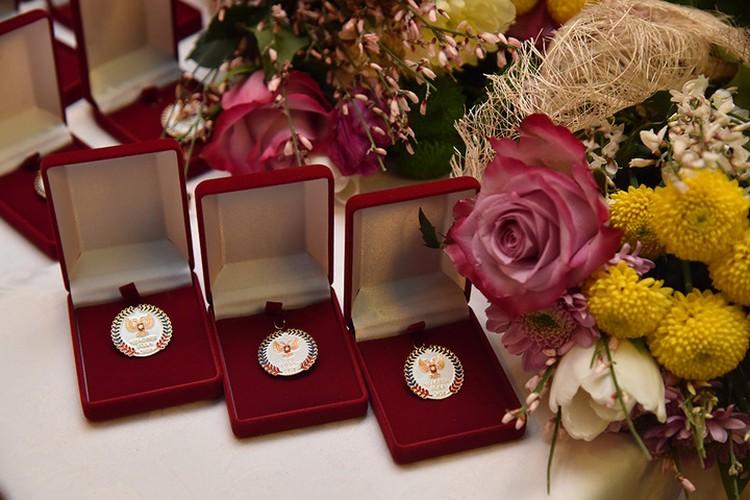 В 15 номинациях конкурса в этом году было отмечено 17 победителей. Фото: denis-pushilin.ru