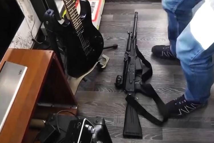 Изъятое у преступников оружие. Фото: ГУ МВД России по Красноярскому краю