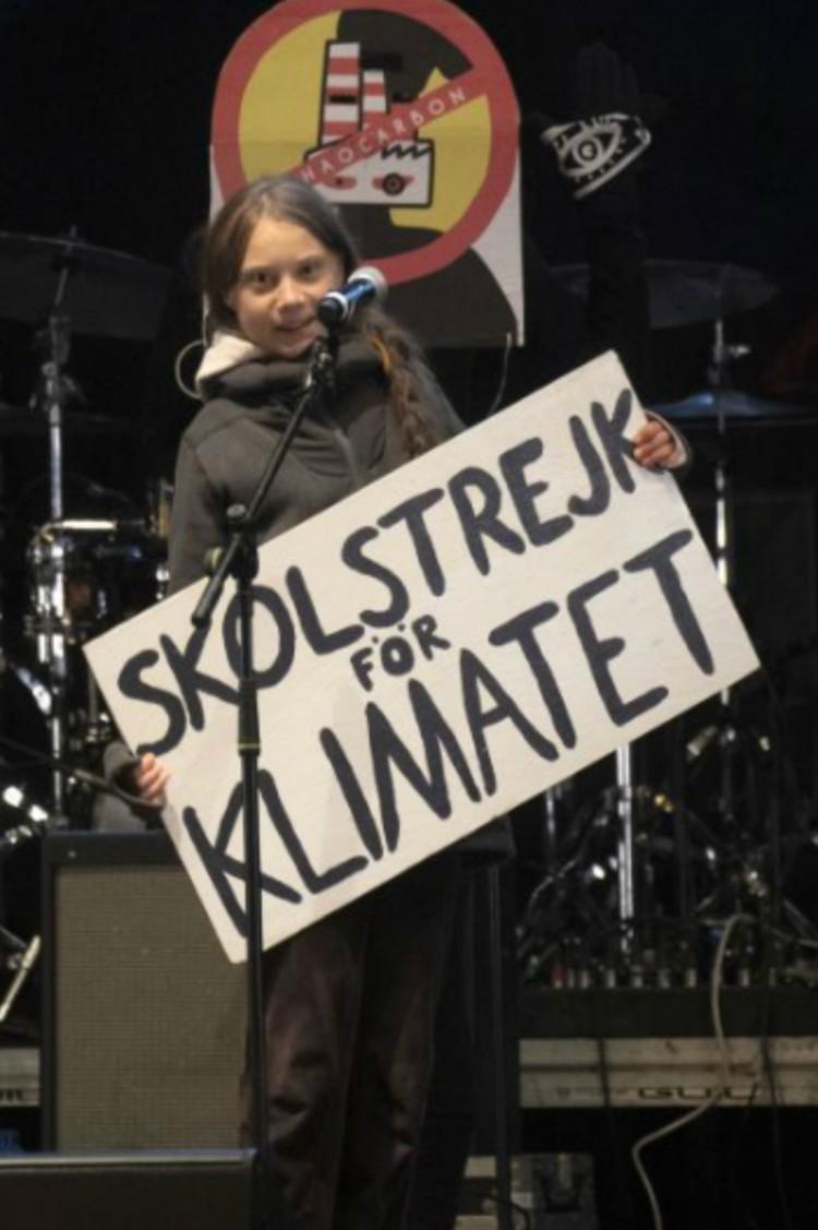 «Школьная забастовка за климат» - движение, которое основала шведская активистка Грета Тунберг. Возможность безнаказанно прогуливать уроки «ради экологии» быстро сделала детей ярыми защитниками природы. Фото: DyD Fotografos/Global Look Press