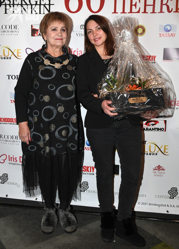 Татьяна Судец с дочерью Дарьей.