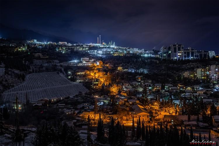 Отличный вид на поселок. Фото: Алекс Кедми/VK
