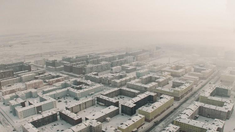 Норильск. Автор фото: Евгений ТУМАШОВ