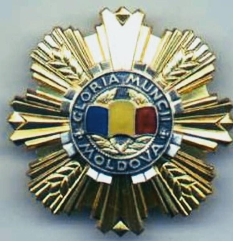"""Орденом """"Gloria Muncii"""" награждаются за трудовые заслуги и особые успехи во всех областях деятельности."""