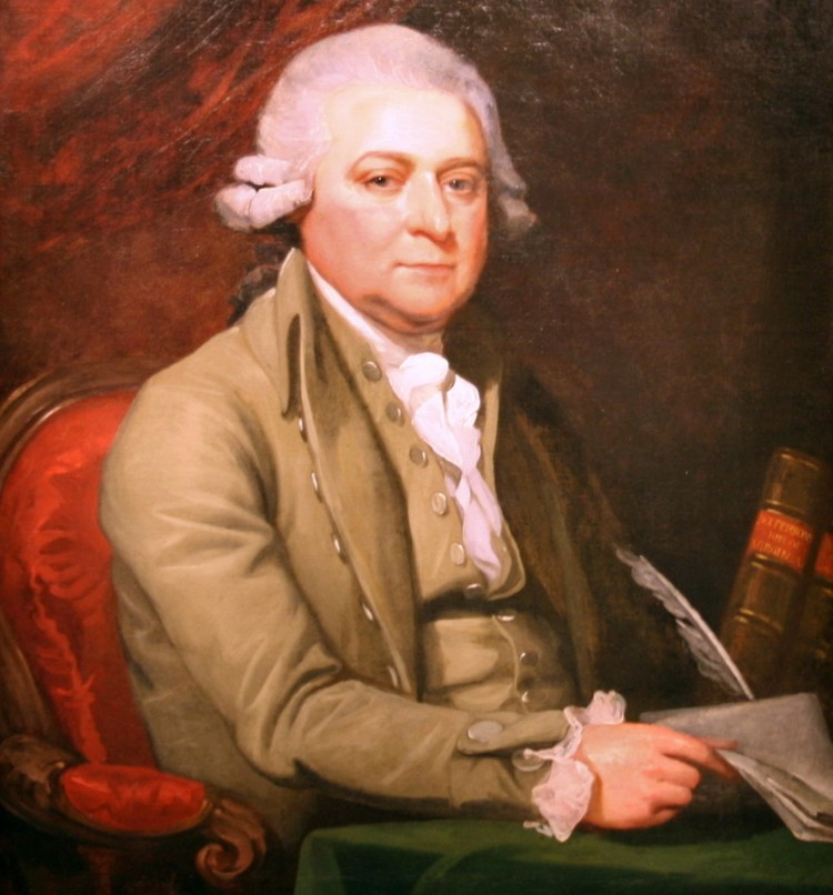 Джон Адамс, второй президент США. Художник Мэзер Браун, 1788 год
