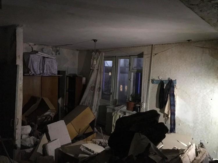 Взрыв принес немало разрушений (Фото: dse.md).