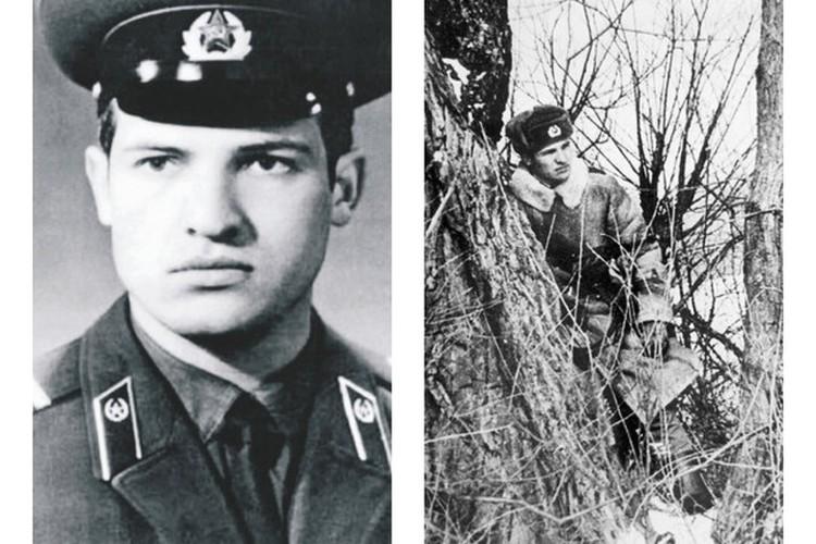 """На сайте Лукашенко можно полистать фотографии тех лет, когда он служил в армии. Фото: телеграм-канал """"Пул Первого"""" и официальный сайт президента"""