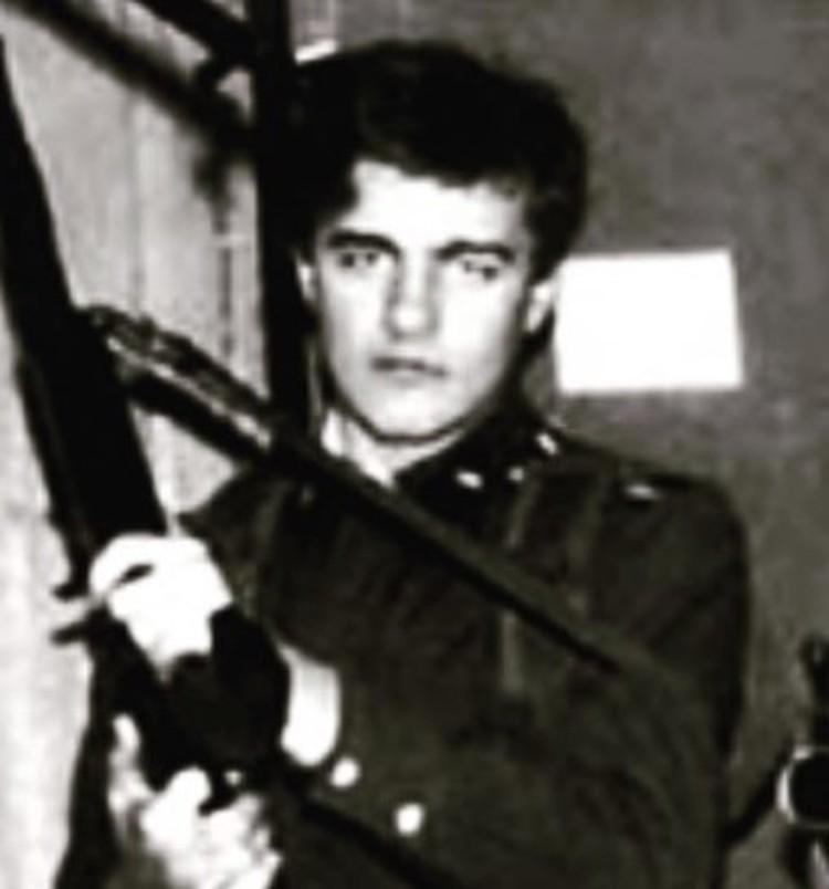 Михаил Пореченков времен армейской службы