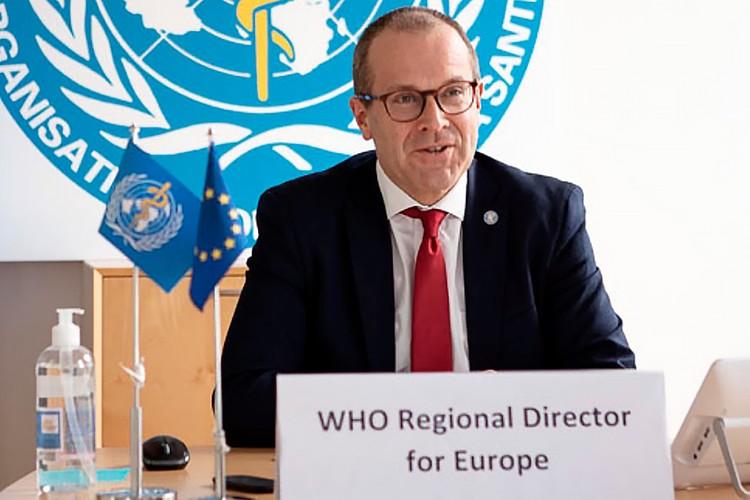 Региональный директор Всемирной организации здравоохранения (ВОЗ) по Европе доктор Ханс Клюге