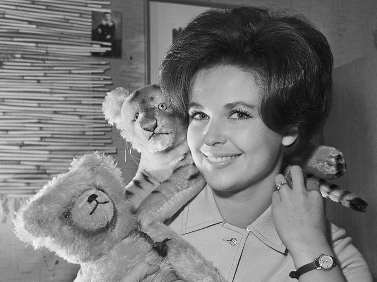 Наталья Фатеева в 1963 г. Фото: ТАСС