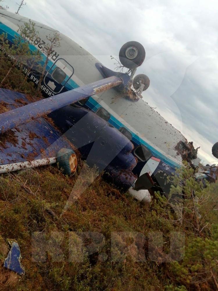 Причины жесткой посадки выясняют следователи. Фото: Сибирский авиационный поисково-спасательный центр