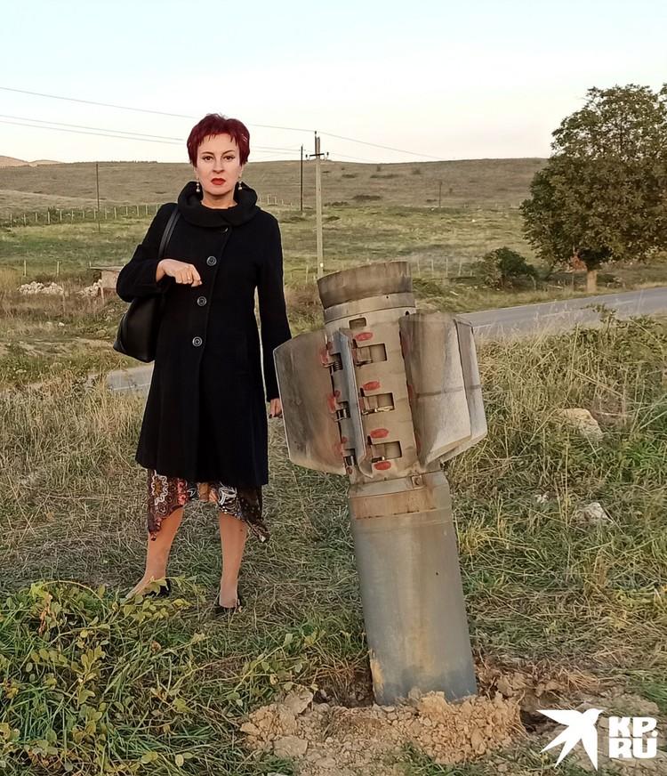 Я во время войны в Нагорном Карабахе.