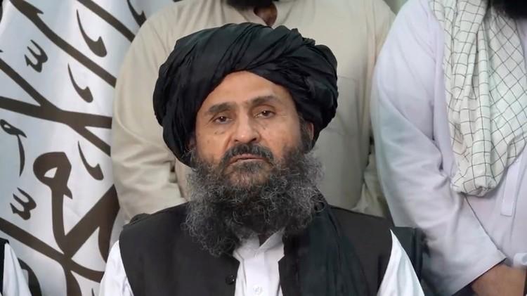 "Лидер движения ""Талибан""* Абдул Гани Барадар."