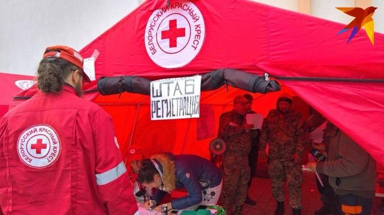 В среду Мария Скидан отправилась на поиски с координаторами из Красного Креста