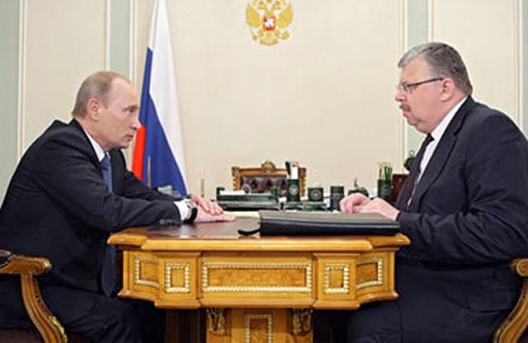 Владимир Путин объяснил главе ФТС Андрею Бельянинову, где нужно заниматься творчеством