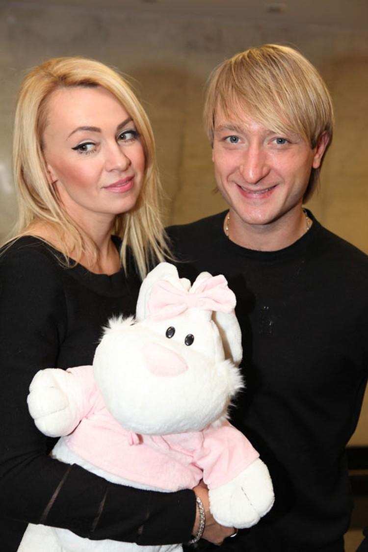 Рудковская и Плющенко в этом году отпраздновали 5-летие знакомства.