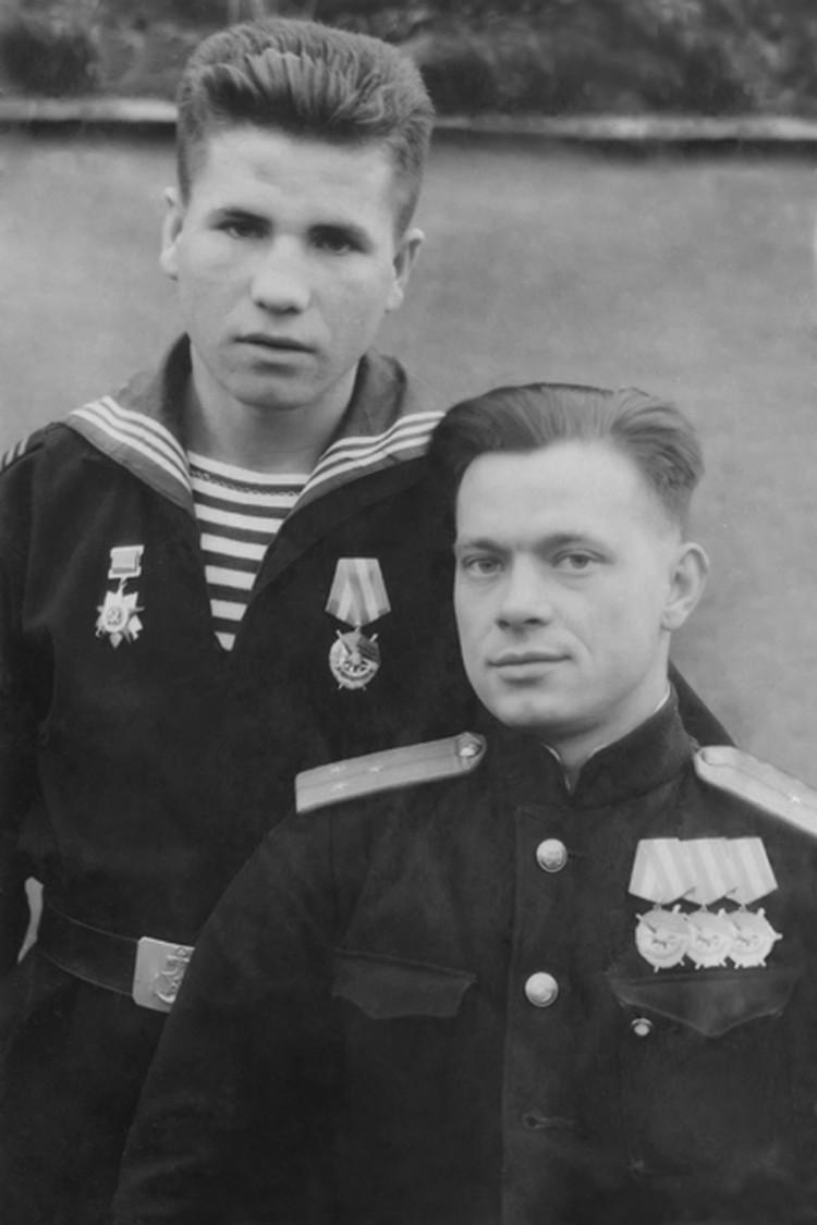 Тот боевой вылет был третьим для летчика Валентина Скопинцева и вторым для его стрелка Владимира Гуменного.