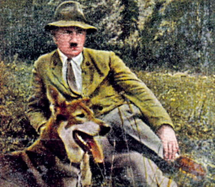 Своих овчарок фюрер называл Блонди. И в Германии, и в Аргентине.