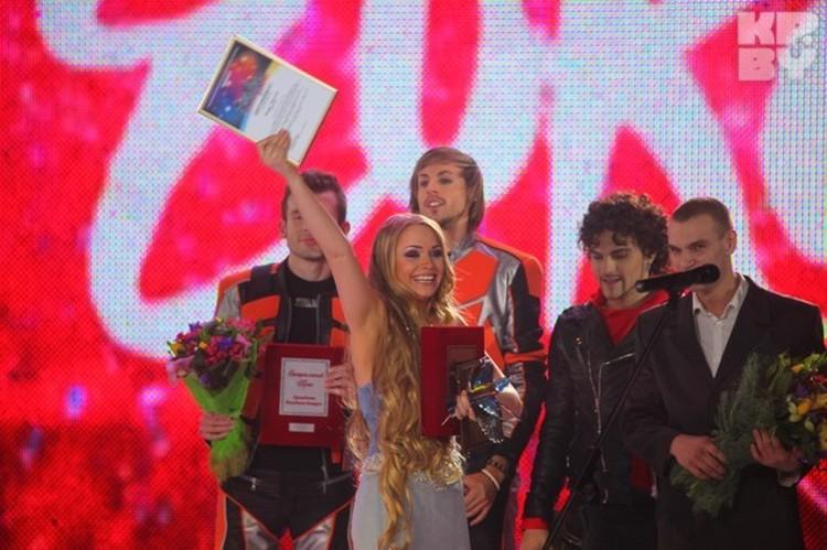 Алена Ланская уже была победителем «Еврофеста», но на конкурс из-за скандала ее не пустили