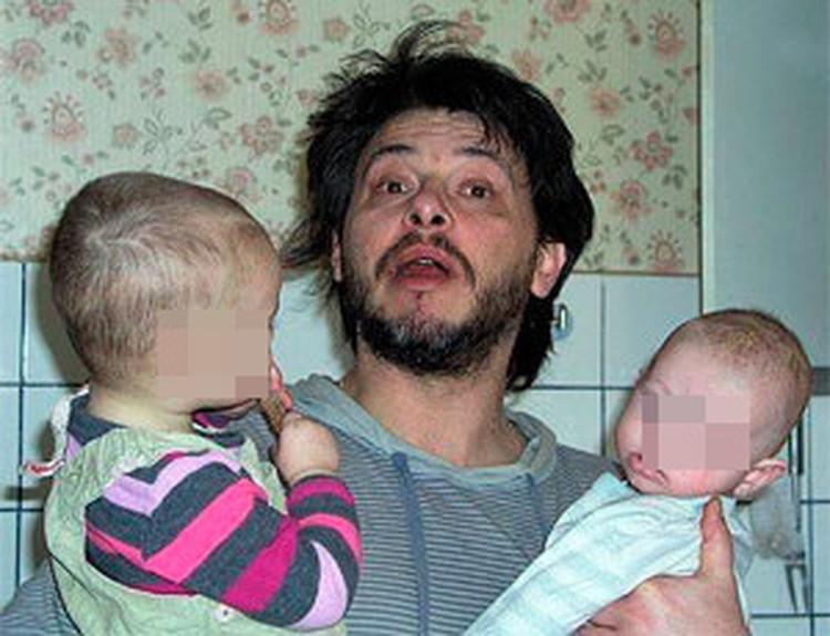 Алексей с детьми