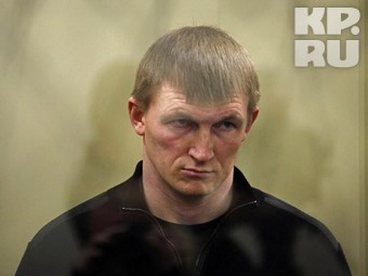 Андрей Быков в зале суда