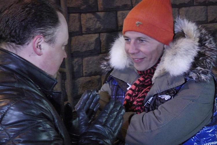 Поболтать со звездой эстрады ночью вышел на улицу мэр Владивостока