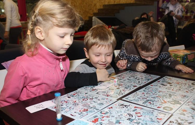 На игротеку можно приходить с детьми от 3 лет.