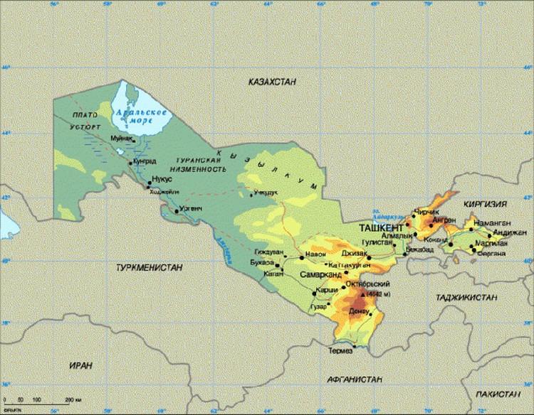 """Узбекистан - это продукт творчества большевистских """"народо- и странопроизводителей"""", которые вычерчивали границы республик на карте по линейке"""