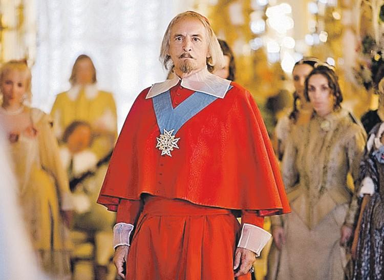 Последняя экранизация романа  Александра Дюма «Три мушкетера». Василий Лановой - в роли кардинала Ришелье.