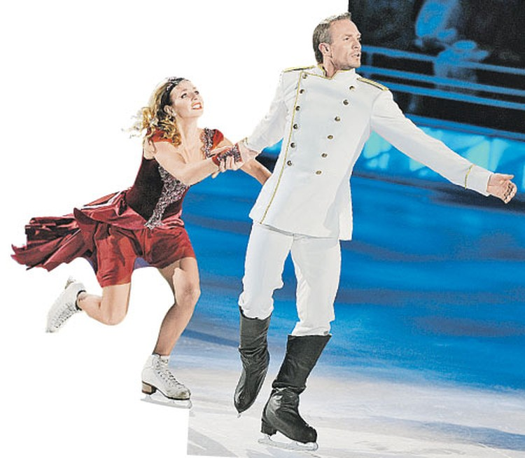 Татьяна Навка и Роман Костомаров снова будут бороться за «золото». Теперь в телешоу.