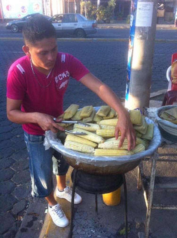 На улицах Манагуа