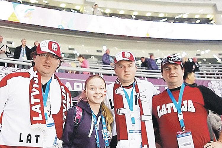 Волонтер из Литвы, болельщики из Латвии -  вот так встреча!