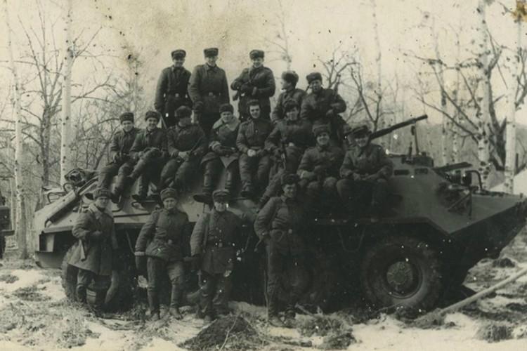 В конце 60-х БТР только поступили на вооружение Советской Армии