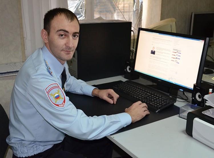 Азамат ЖИРИКОВ (фото:пресс-служба ГУ МВД по КБР)