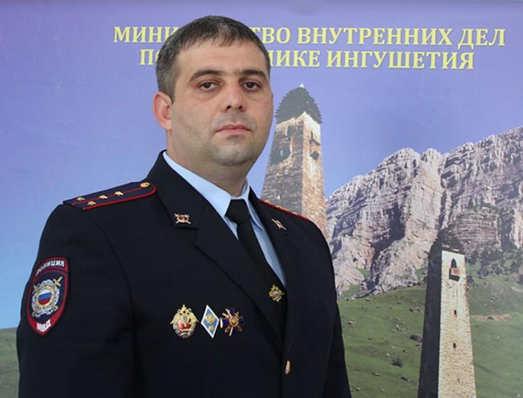 Адам ИМАГОЖЕВ(фото:пресс-служба ГУ МВД по РИ)