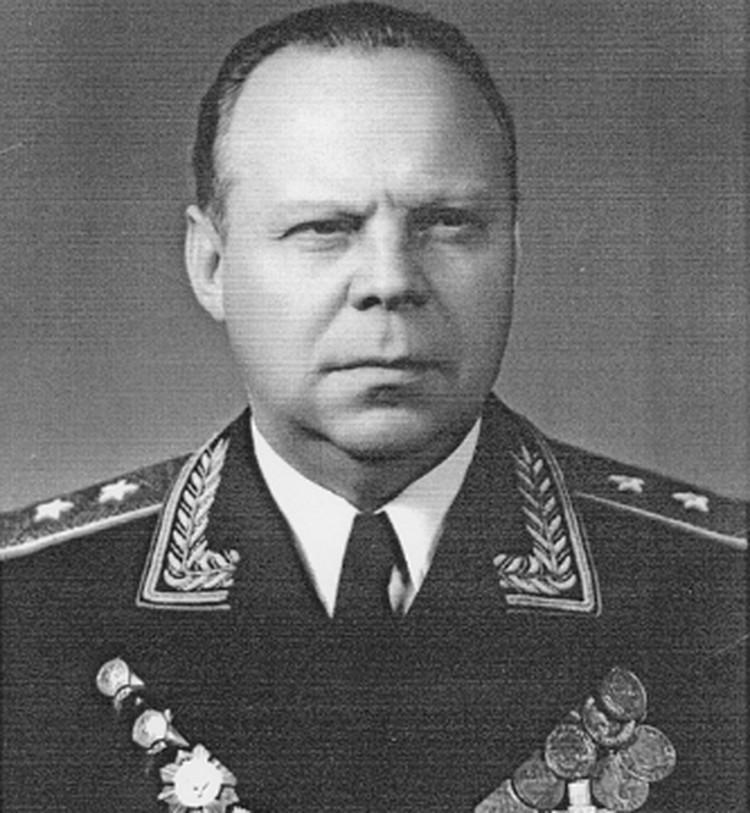 Генерал-лейтенант Трусов Николай Михайлович,  в 1944 г. – начальник разведывательного отдела штаба Отдельной Приморской армии.