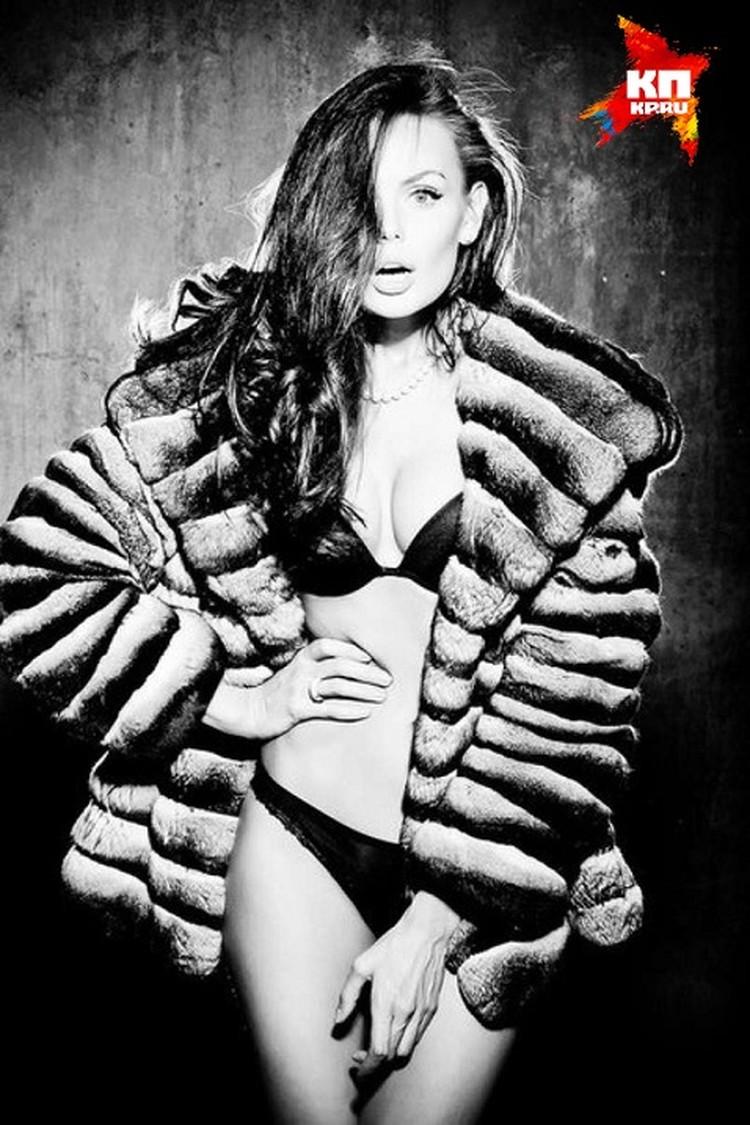 Юлия была очень востребованной моделью